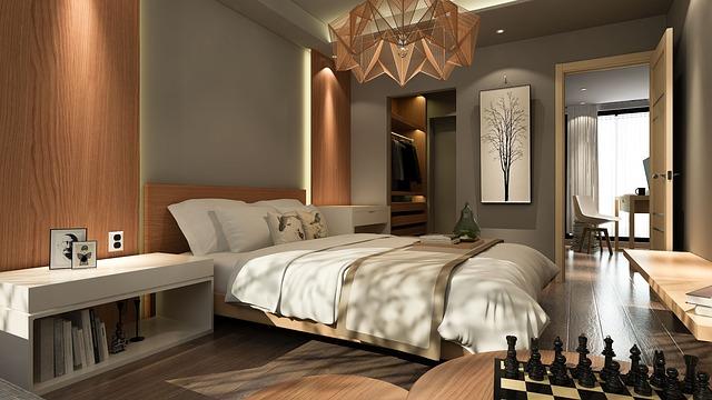 szafa w sypialni